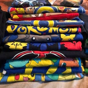 Other - 11 Pokémon T-shirt's